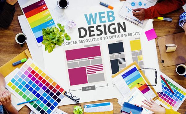 web design menu image